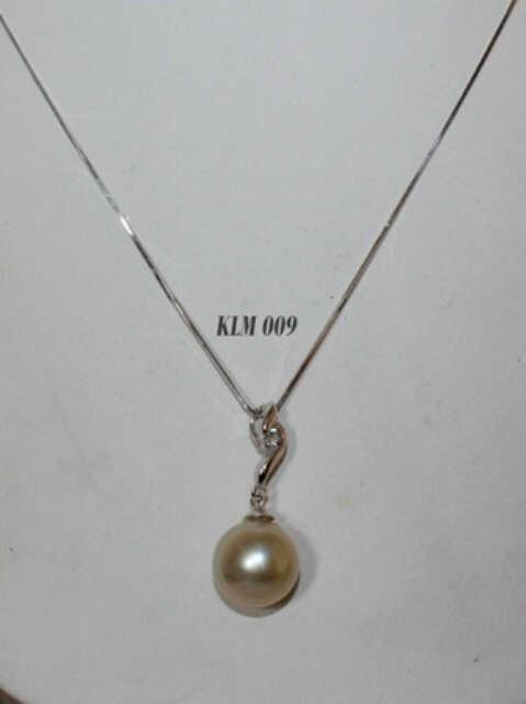 Kalung Emas Putih Kadar 75 Berat 436 Gram Asli 200 X KALUNG MUTIARA 16 BARCODE Rp